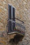 Balcony in the wall Stock Photos