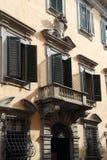 Balcony in Tuscany, Italy Royalty Free Stock Images