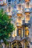 Balconys и Windows Касы Batllo Стоковые Фото