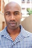 Bald african american man Stock Photography
