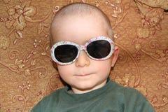 Bald boy portrait Royalty Free Stock Photos