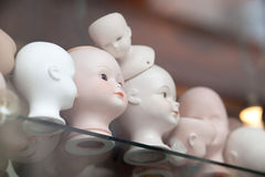 Bald dolls collection Stock Image