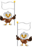 Bald Eagle Character Royalty Free Stock Photos