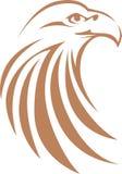 Bald Eagle Swish Style royalty free illustration