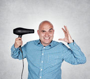 Bald guy Stock Photography