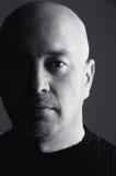 Bald head man Stock Image