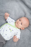 Bald Little Baby Royalty Free Stock Photography