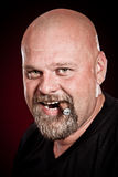 Bald man Stock Photos
