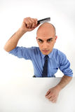 Bald man Royalty Free Stock Photography