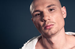 Bald man Royalty Free Stock Photo
