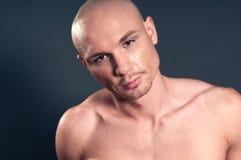 Bald man Royalty Free Stock Image