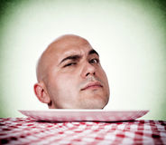 Bald man Royalty Free Stock Photo