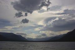 Bald mountain lake, Kola Peninsula, Murmansk region, Russia Stock Photography