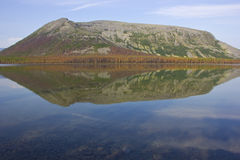 Bald mountain lake, Kola Peninsula, Murmansk region, Russia Stock Photos