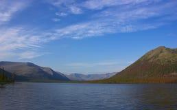 Bald mountain lake, Kola Peninsula, Murmansk region, Russia Royalty Free Stock Photos