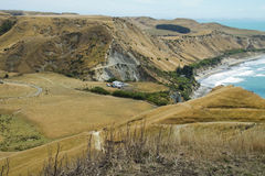 Bald mountains near Cape Kidnappers