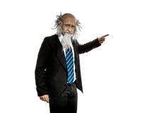 Bald old teacher Royalty Free Stock Photo