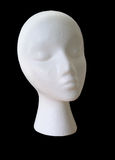 Bald polystyrene female head Royalty Free Stock Photos