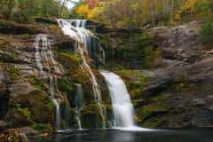 Bald River Falls. Tellico Plains, Cherokee National Forest Royalty Free Stock Image