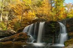 Bald River Falls. Tellico Plains, Cherokee National Forest Royalty Free Stock Photography