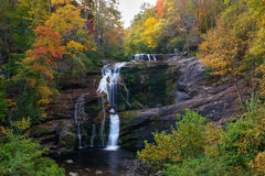 Bald River Falls. Tellico Plains, Cherokee National Forest Stock Photography