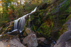 Bald River Falls. Tellico Plains, Cherokee National Forest Royalty Free Stock Photo