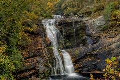 Bald River Falls in Tennessee, USA. Bald River Falls near Tellico Plains, Tennessee, USA in Autumn Stock Images