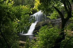 Bald River Waterfall Stock Images