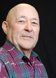 Bald senior man royalty free stock photos