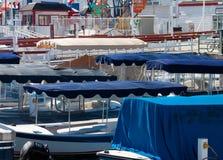 Baldacchini elettrici della barca Immagini Stock Libere da Diritti