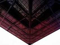 Baldacchino di vetro Fotografie Stock