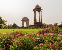 Baldachim blisko India bramy, Delhi zdjęcie royalty free