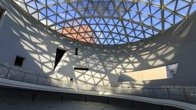 Baldachim i cień w pokoju muzeum w Nagsaki fotografia royalty free