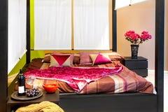Baldachin bed Stock Photo