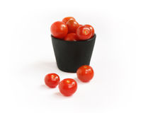 Balde dos tomates fotos de stock