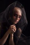 Baldhead woman Stock Photos
