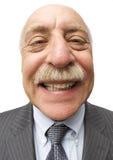 Balding mais souriant photographie stock