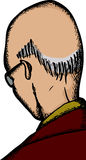 Balding Man Head Royalty Free Stock Images