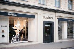 Baldinini store in Vilnius, Lithuania Stock Image