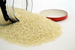 Baldo big rice pictures on the most beautiful and best white background Royalty Free Stock Photo