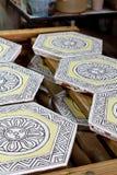 Baldosa cerámica Fotografía de archivo libre de regalías