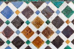 Baldosa cerámica vieja Imágenes de archivo libres de regalías