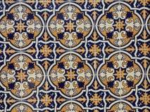 Baldosas cerámicas portuguesas tradicionales imagen de archivo libre de regalías