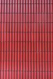 Baldosas cerámicas rojas Fotografía de archivo