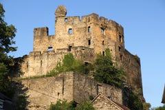 Balduinstein slott Arkivfoto