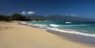 Baldwin Beach norr kust, Maui, Hawaii royaltyfria foton