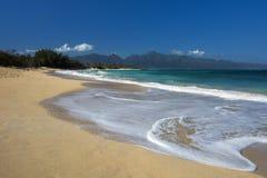 Baldwin Beach, north shore, Maui, Hawaii Royalty Free Stock Photos