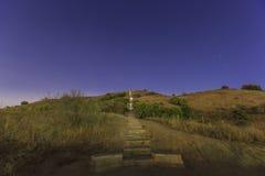 Baldwin Hills Scenic Overlook arkivfoto