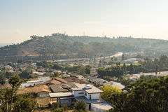 Baldwin hills scenic view. Beautiful scenic view of baldwin hills california royalty free stock image