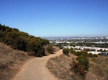 Baldwin Hills Trail. Trail in Baldwin Hills, Los Angeles Royalty Free Stock Image
